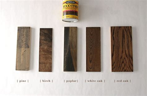 stains    popular types  wood