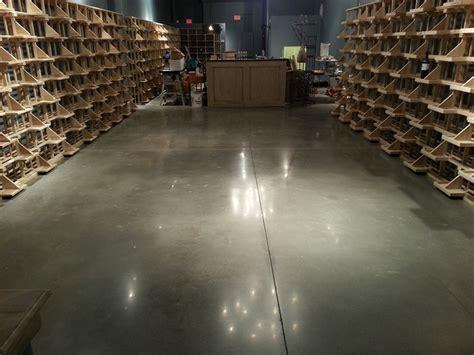 Wine Cellar Polished Concrete Floor By FG & PF