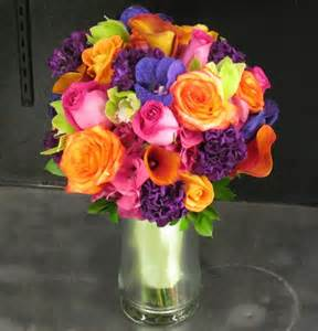 flower delivery san diego brightly colored bridal bouquet products local florist