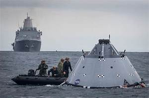 US Navy sailors prepare for recovering NASA's Orion ...