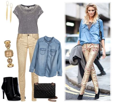 How to Fashion Denim Shirts on Different Occasions (Part 2)   Gorgeautiful.com