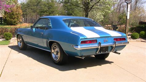 Chevrolet Dealers Nc by 1969 Chevrolet Camaro Z28 Stock A133 For Sale Near