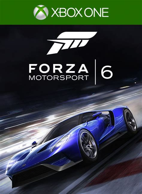 forza motorsport 6 xbox one forza motorsport 6 2015 xbox one box cover mobygames