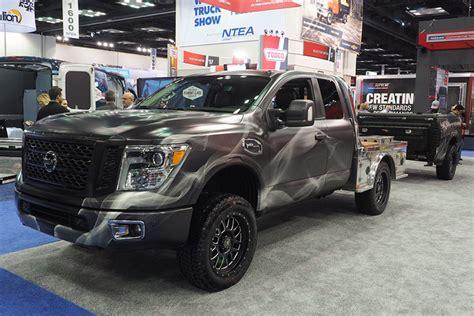 concept work truck nissan s cool smokin titan heats up work truck show