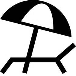 sonnenschirmstrandstuhlschatten symbol kostenlos von With französischer balkon mit sonnenschirm icon