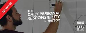 Episode 03: The daily personal responsibility strategy