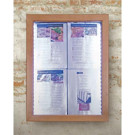 porte menu restaurant exterieur porte menu ext 233 rieur 4xa4 avec affichage led