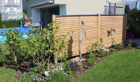 Sichtschutzwand Der Sichtschutz Für Garten Und Terrasse