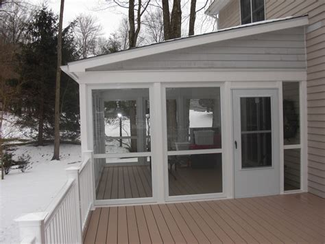 Enclosed Porch Windows by Enclose Your Screen Porch Porch Enclosed Patio Decks