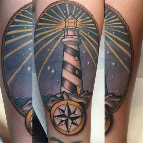 incredible lighthouse tattoo designs tattooblend