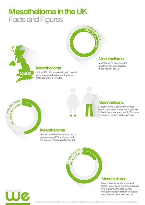 mesothelioma   uk facts  figures infographic