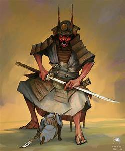 Oni samurai by Reicheran on DeviantArt