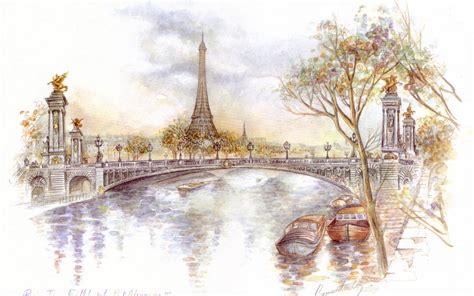 paris drawing hd wallpaper hd latest wallpapers