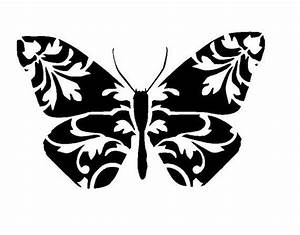 "6/6"" Vintage design butterfly stencil 1   Vintage designs ..."