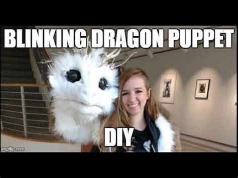 blinking dragon puppet youtube