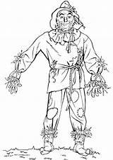 Wizard Oz Coloring sketch template