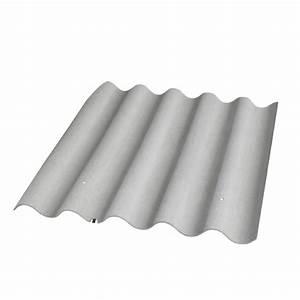 Plaque Ondulée Pour Toiture : eternit plaque ondul e 5 ondes teinte naturelle fibre ~ Premium-room.com Idées de Décoration