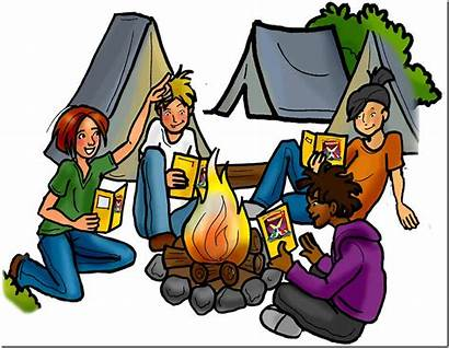 Clipart Adventure Outdoor Campfire Stories Cliparts Clip