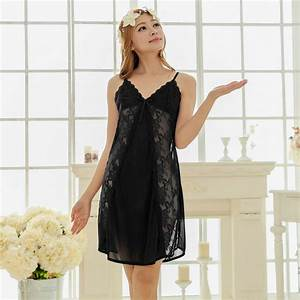 Aliexpress.com : Buy Free shipping lace sexy nightdress ...