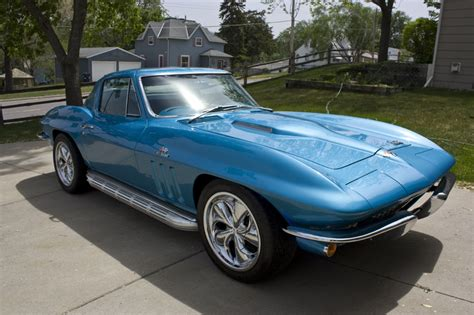 corvette sting ray   wet sanded  buffed