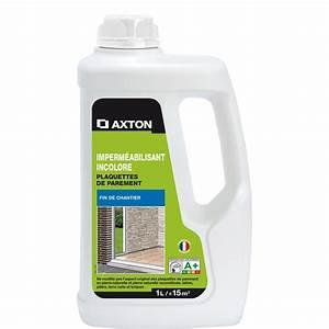 Impermeabilisant hydrofuge plaquettes de parement axton for Porte d entrée pvc avec produit pour nettoyer les joints de salle de bain