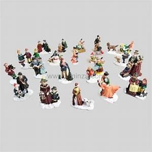 Personnage Pour Village De Noel : assortiment de personnages de rue personnage et accessoire pour village eminza ~ Melissatoandfro.com Idées de Décoration