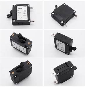 Switch Circuit Breaker 12v Dc Automotive Resettable