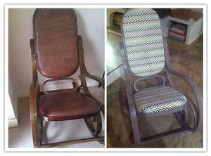 Rocking Chair Rnov Et Relook DIY Customis Rnovation