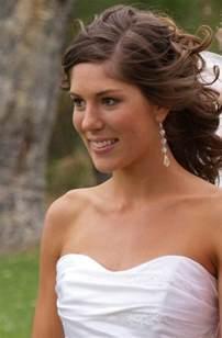 shoulder length wedding hairstyles medium length bridal hairstyles for hiar with veil half up 2013 for hair indian half