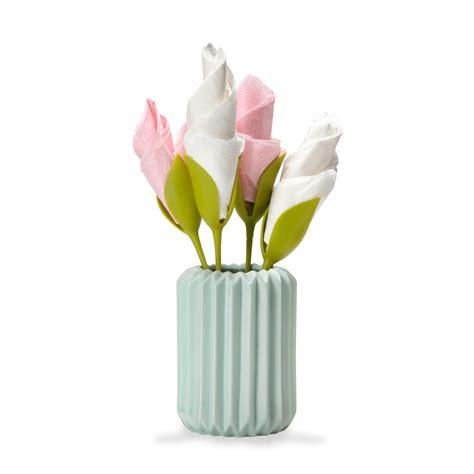 bloom napkin holders  green head