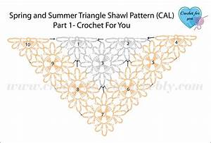 Spring And Summer Triangle Shawl  Cal Part 1