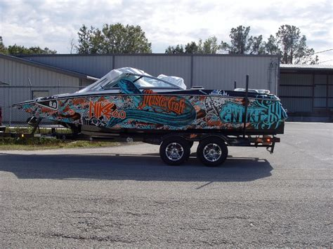 Mastercraft Boat Graphics by Boat Wraps Graphic Systems Installers