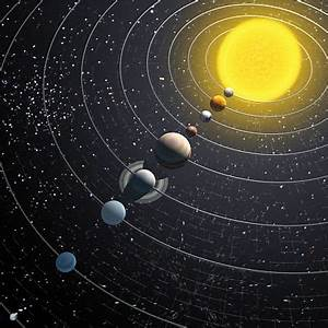 Accurate Solar System Model - Pics about space