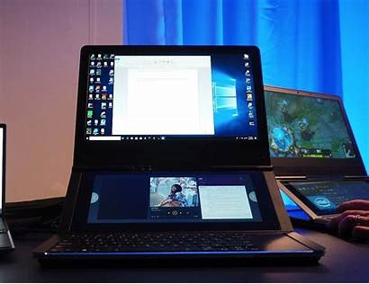 Screen Dual Intel Laptop Honeycomb Glacier Laptops