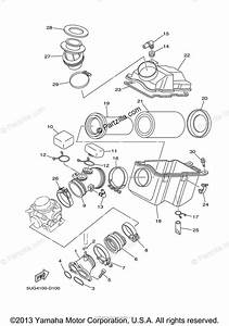 Yamaha Side By Side 2005 Oem Parts Diagram For Intake