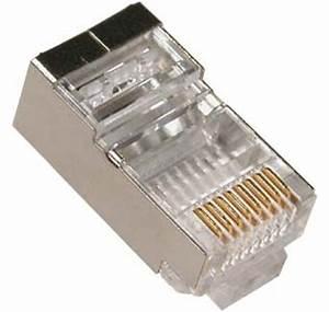 Fiche Rj45 Cat 6 : conector rj45 macho utp cat 6 blindado 30 unidades ~ Dailycaller-alerts.com Idées de Décoration