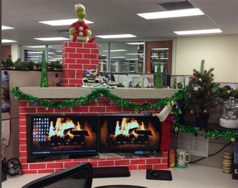 christmas cubicle decorating ideas top 31 office decorations ideas to style your workplace
