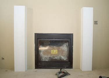 Fireplace Mantel Legs - how to build a fireplace mantel from scratch diy home