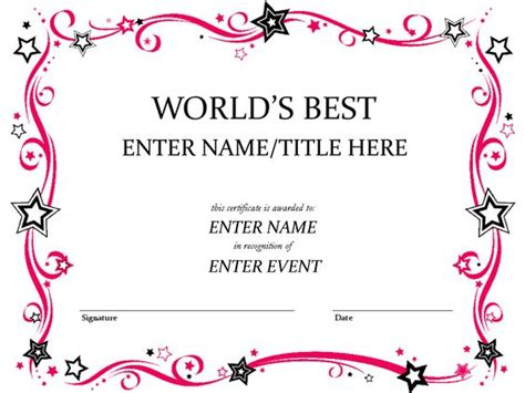 Tke Award Certifricate Template by Pinterest The World S Catalog Of Ideas