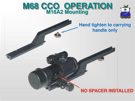 Ppt Identify Characteristics Of The M68 Cco Perform Pmcs