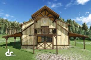 Pole Barns with Living Quarters Floor Plans