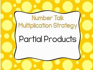 Partial Products Multiplication Strategy