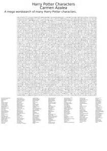 Harry Potter Mega Word Search