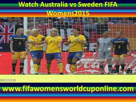 Timing and scoring provided by omega. Live Sweden vs Australia Football