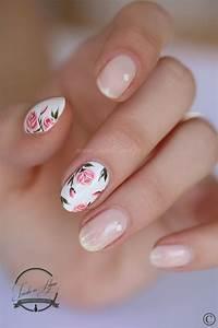 Nail Art Printemps 2018 : alerte tendance le nail art floral s 39 empare de nos ongles ~ Dode.kayakingforconservation.com Idées de Décoration
