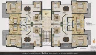 Apartment Building Layouts Ideas Photo Gallery by Rockline Apartment In Bhabani Nagar Hubli Dharwad By