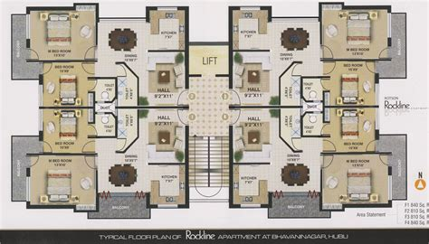 floor plans apartments india small apartment home plans
