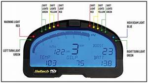 Haltech Iq3 Display Street Dash  U2013 Ht