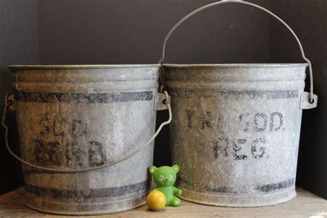 ideas great galvanized pails  everyday