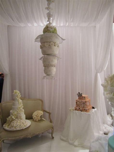 wedding cake trend   gravity defying wedding cakes